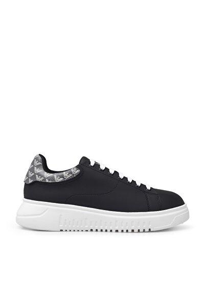 Emporio Armani Kadın Siyah Ayakkabı X3x024 Xm327 N128