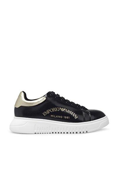 Emporio Armani Kadın Siyah Ayakkabı X3x024 Xm532 M700