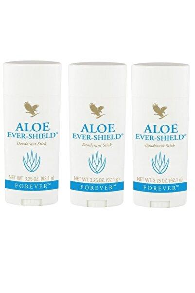Forever Aloe Ever-shield Deodorant Stick Rollon 3 Adet