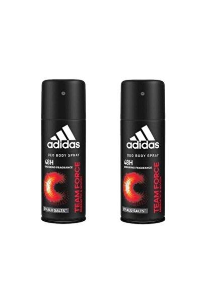 adidas Team Force Erkek Deodorant 150 ml  X 2 Adet 34122456001002