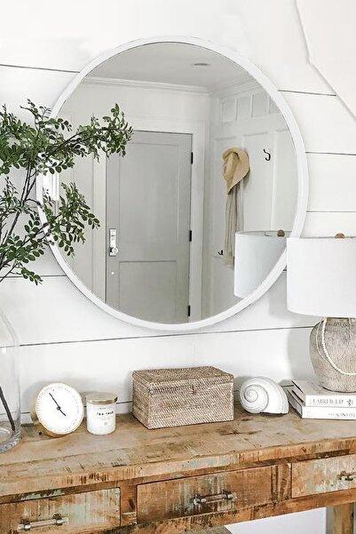 LYN HOME & DECOR Lyn Dekoratif Konsol Aynası Beyaz