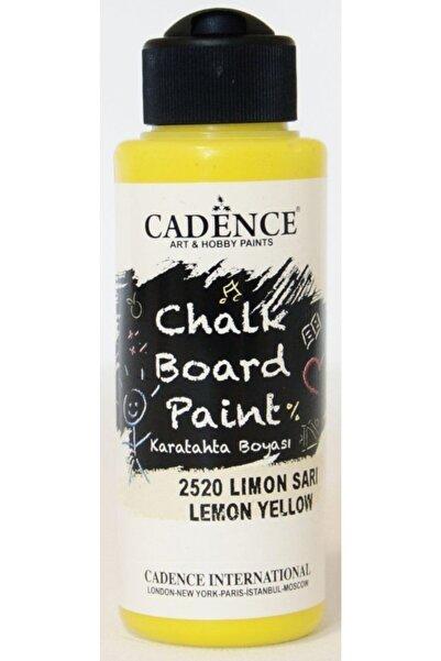 Cadence 2520 Limon Sarı Kara Tahta Boyası