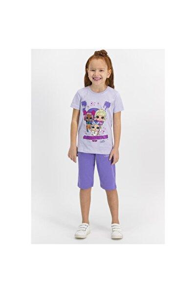 ROLY POLY Kız Çocuk Kapri Takım Lol Baskılı L1151