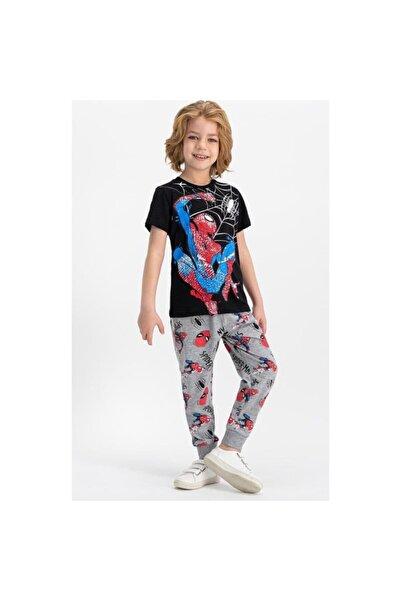 ROLY POLY Spider Man Lisanslı Çocuk Pijama Takımı D4340-2