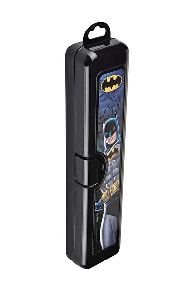 Nubutik's Erkek Çocuk 2 'li Batman Lisanslı Diş Fırçası Ve Saklama Kabı