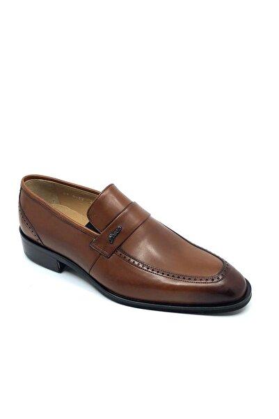 Fosco Erkek Taba Bağcıksız  Neolit Taban  Klasik Ayakkabı 8532 875