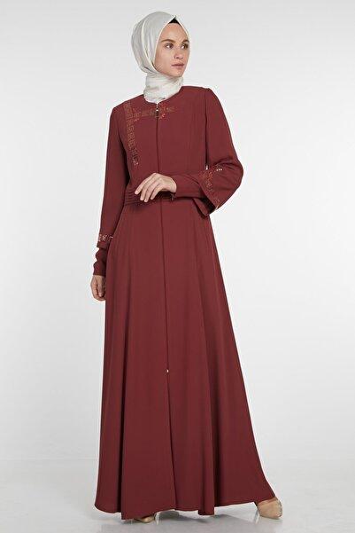 MANTTOCU Kadın Mercan Karanfil Pardesü Manttocu-M19YPRD86061