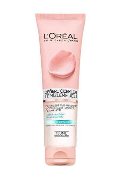 L'Oreal Paris L'oréal Paris Değerli Çiçekler Temizleme Jeli Normal Ve Karma Ciltler 150 ml