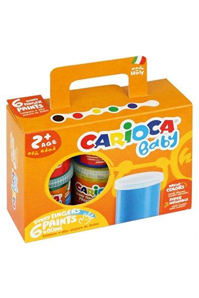 CARIOCA Yıkanabilir Parmak Boyası 6 Renk
