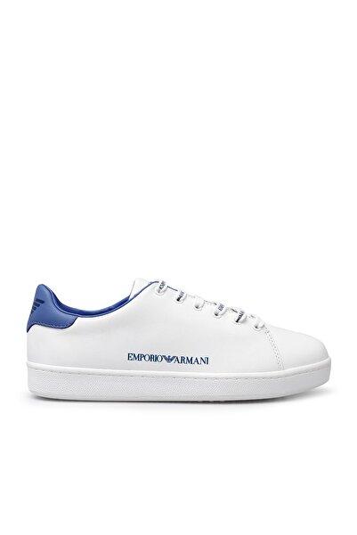Emporio Armani Kadın Beyaz Hakiki Deri Ayakkabı X3x061 Xm257 R705