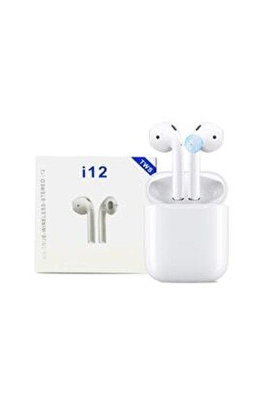 Airpods I12 Bluetooth V5.0 Kablosuz Kulaklık I12 Iphone Bluetooth Kulaklık Hd Ses Kalitesi