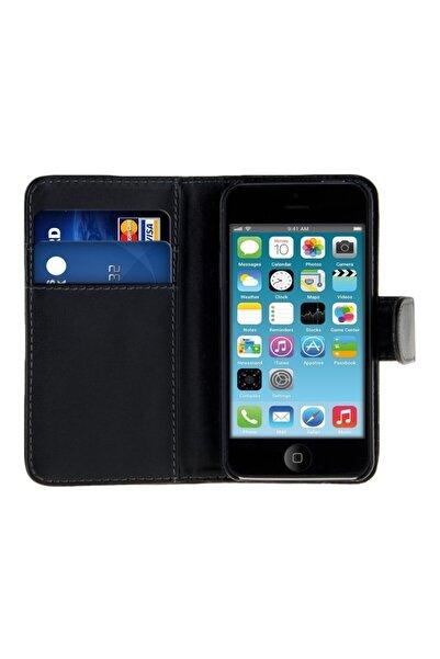 Microsonic Microsonic Cüzdanlı Deri Iphone 4s Kılıf Siyah