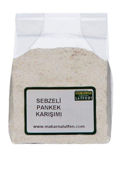 Makarna Lütfen Sebzeli Pankek Karışımı Tuzsuz Tatlı Olmayan Karışım 235 Gram
