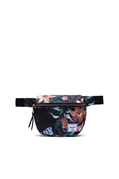 Herschel Supply Co. Unisex Siyah Fifteen Summer Floral  Bel Çantası