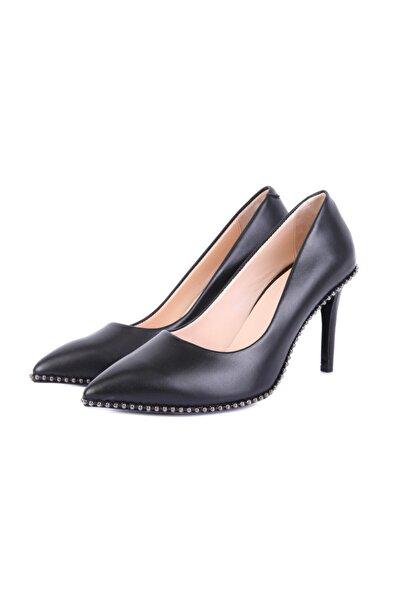 W Collection Kadın Siyah Topuklu Ayakkabı