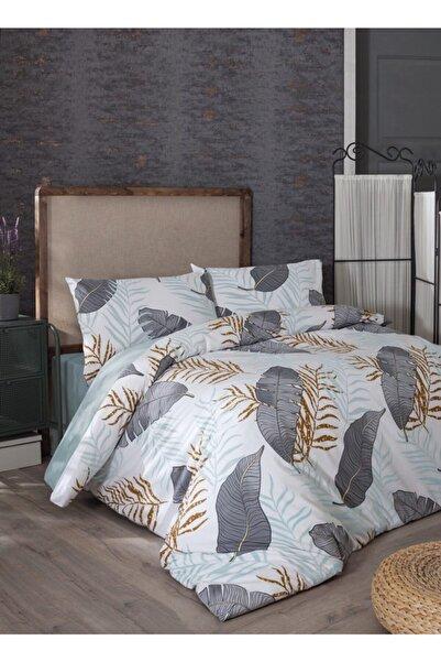 Coronet Home %100 Pamuk Ranforce Plus Çift Kişilik Nevresim Takımı-Almina-Mint