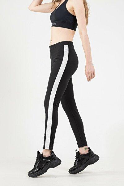 Calvin Klein Kadın Siyah Pantolon
