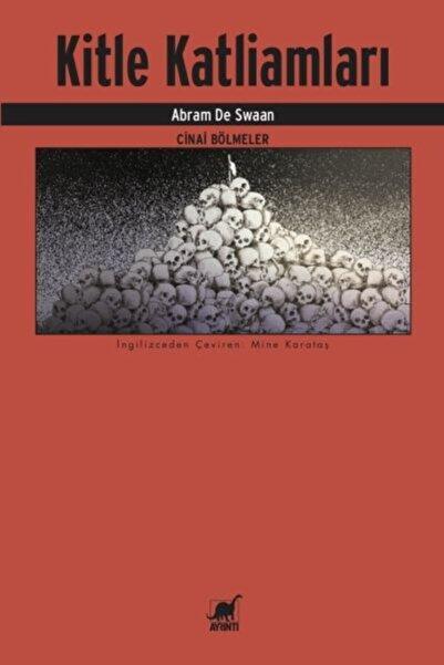Ayrıntı Yayınları Kitle Katliamları Cinai Bölmeler