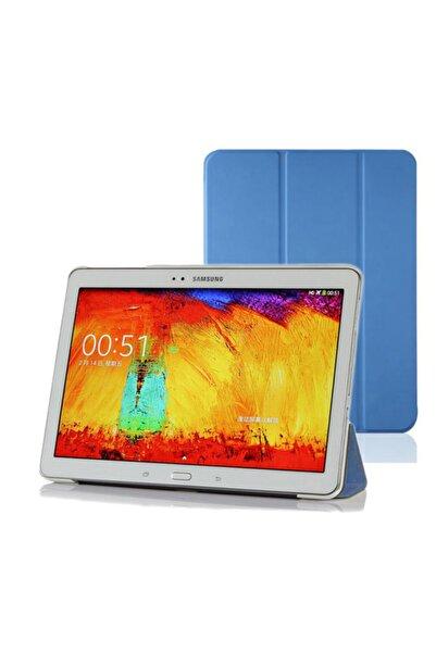 Microsonic Microsonic Galaxy Tab4 T530 Smart Case Ve Arka Kılıf Mavi