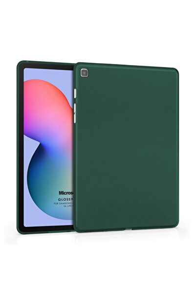 "Microsonic Microsonic Galaxy Tab S6 Lite 10.4"" P610 Kılıf Matte Silicone Yeşil"
