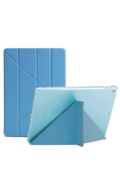Microsonic Microsonic Ipad Mini 5 7.9'' 2019 (a2133-a2124-a2125-a2126) Folding Design Kılıf Turkuaz