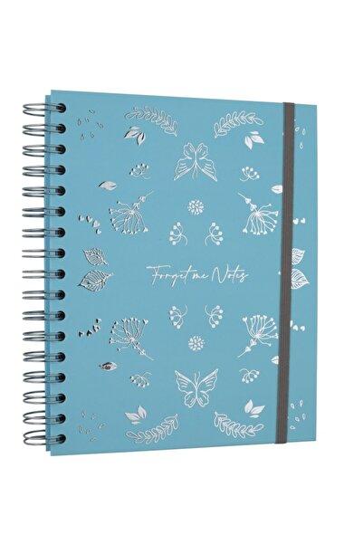 Victoria's Journals Forget Me Notes Defter 17x24 Cm Çizgili