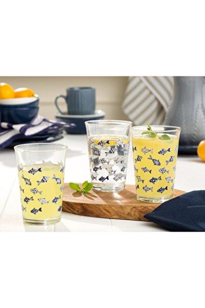 Madame Coco Fısh 3-Lü Su Bardağı Seti