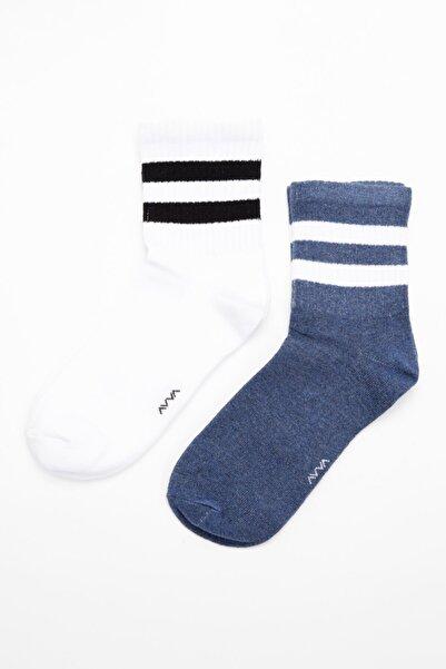 Avva 2'li Tenis Çorap