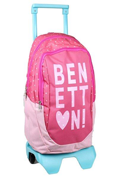 Benetton Çekçekli Okul Çantası