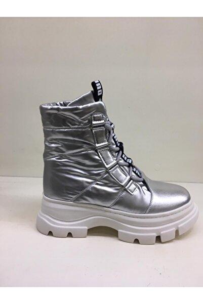 Guja Gümüş Bağcıklı Sneakers Bot 20k327-4