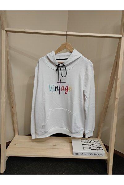 Sandstone Unısex Renkli Nakışlı Sweatshirt