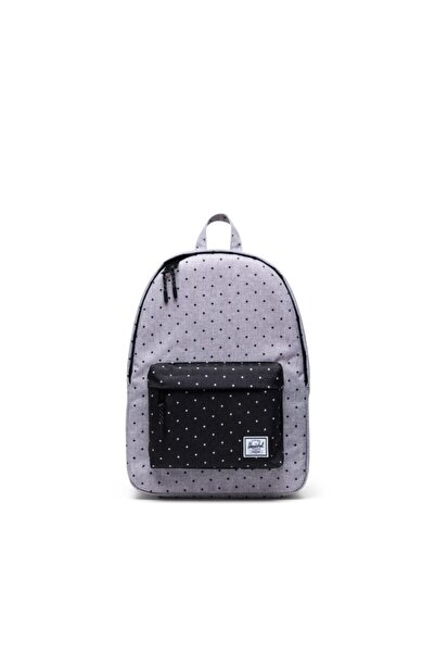 Herschel Supply Co. Herschel Supply Sırt Çantası Classic Mid-volume Polka Dot Crosshatch Grey/black