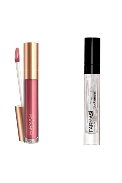 Farmasi Make Up Nudes For All Lip Gloss - Rose Fame & Dudak Dolgunlaştırıcısı