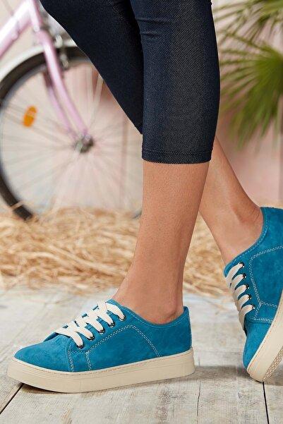 DARK SEER Kadın Mavi Sneaker