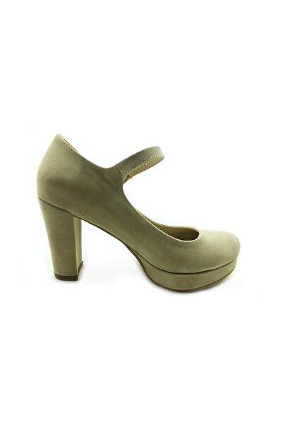 Almera Kadın Yeşil Topuklu  Ayakkabı