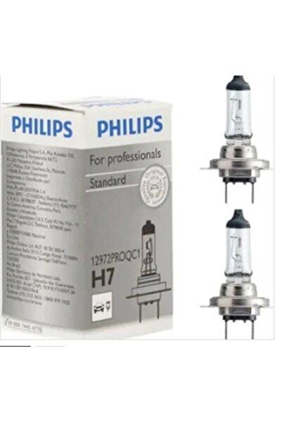Philips 2 Adet H7 12v 55w Standart Ampul Phılıps