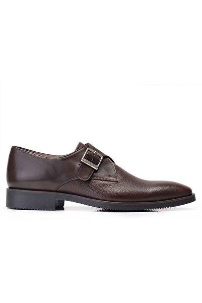 Nevzat Onay Hakiki Deri Kahverengi Klasik Loafer Erkek Ayakkabı -11850-