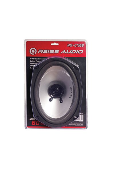 Reiss Audio Rs-cx69 6x9 Cm 60 Watt - 25 Watt Rms Var 4 Ohm Oval Araç Hoparlörü