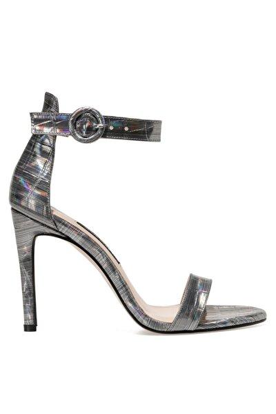 Nine West LINDIT Gümüş Kadın Topuklu Sandalet 100663656