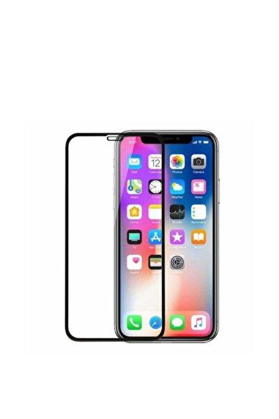 AYSU Iphone 11 Promax 5d 6d Kavisli Tam Kaplayan Temperli Kırılmaz Cam