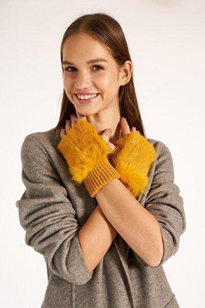 Y-London Kadın Sarı Eldiven 11032