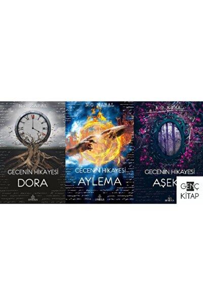 Ephesus Yayınları Gecenin Hikayesi Serisi 3 Kitap Set Ciltli N. G. Kabal Ephesus Aylema Dora Aşeka