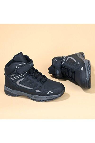 Jump Erkek Çocuk Siyah Termal Astarlı Spor Bot Ayakkabı 25808
