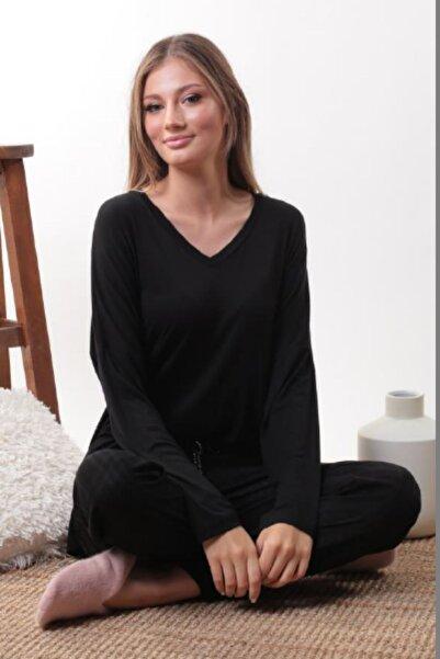 Pamuk & Pamuk Kadın Siyah Pijama Takımı