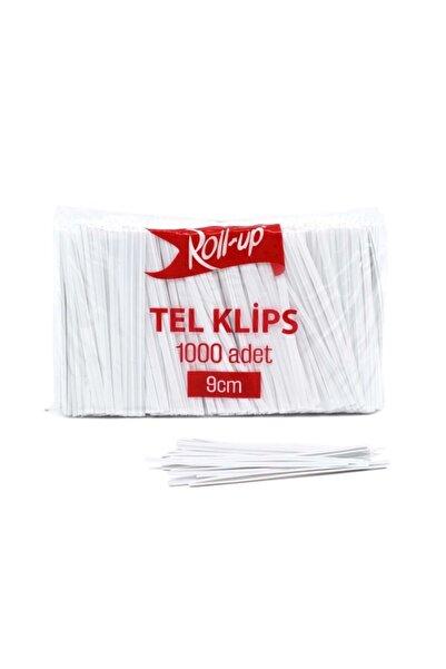 Roll-Up Roluo Tel Klips 1000 Adet 9 cm