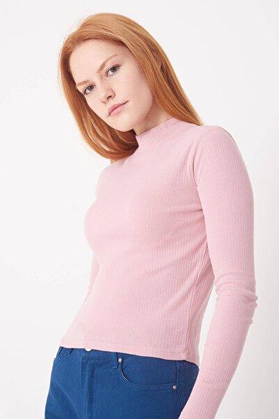 Addax Kadın Pale Uzun Kollu Bluz B1070 - U8 ADX-0000023027