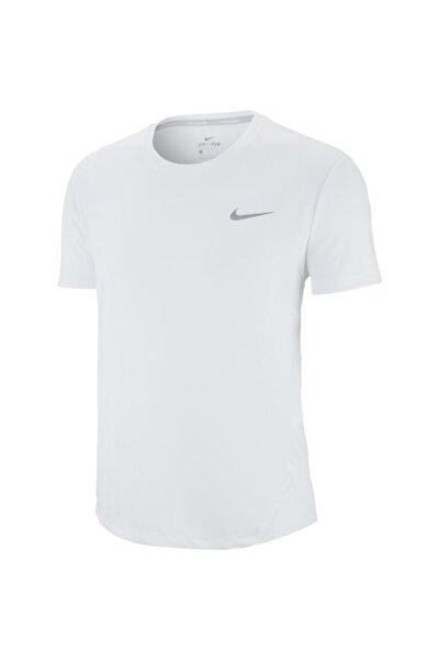 Nike Kadın Beyaz Tişört W Nk Mıler Top Ss Aj8121-100