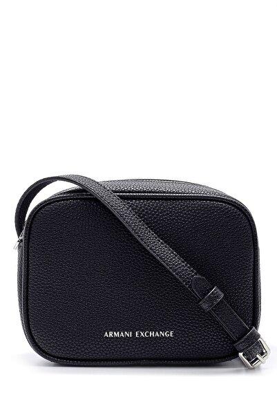 Armani Exchange Kadın Siyah Omuz Çantası