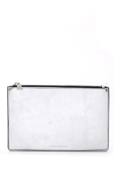 Armani Exchange Kadın Gümüş Renk Omuz Çantası