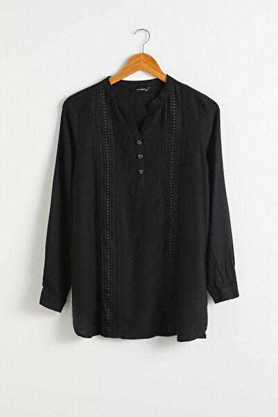 LC Waikiki Kadın Yeni Siyah Bluz 0WBV87Z8